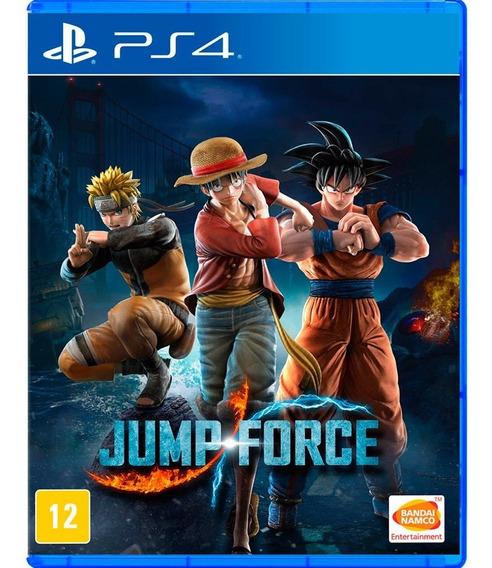 Jump Force - Ps4 Cod 1 Pt-br Envio Já