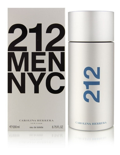 Perfume Original Carolina Herrera 212 - mL a $1600