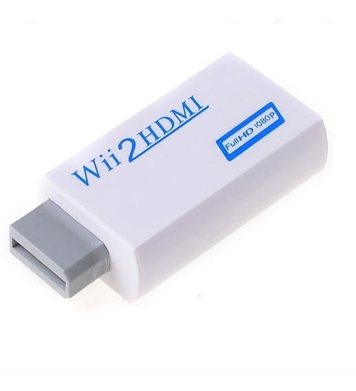 Adaptador Wii A Hdmi 720p/1080p Conectala Wii Por Cable Hdmi, , Mania-electronic