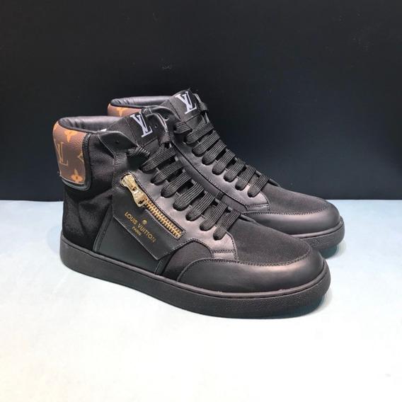Sapato Louis Vuitton Rivoli Sneaker Boot 91