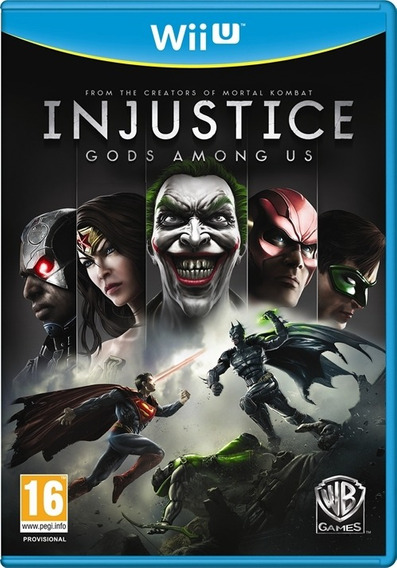 Wii U - Injustice Gods Among Us