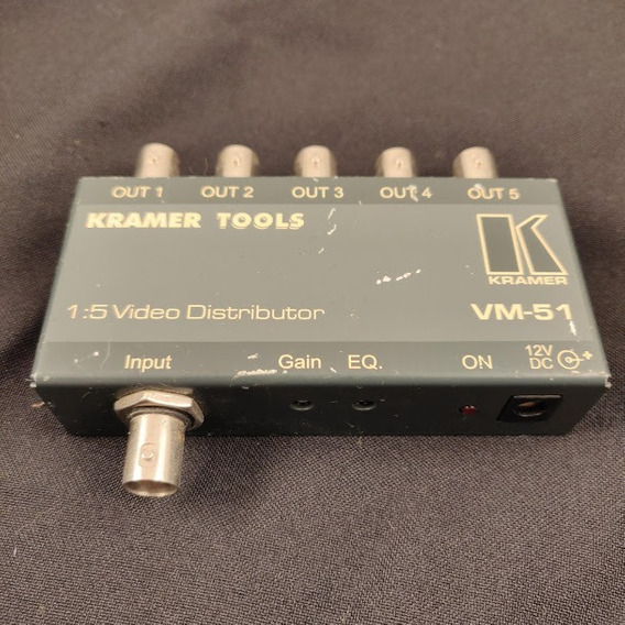 Kramer Vm-51 Distribuidor Amplificador Video Compuesto