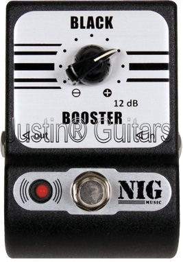 Pedal Nig Pocket Pbb Black Booster