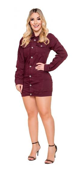 Jaqueta Jeans Feminina Curta Cropped Melhor Preço