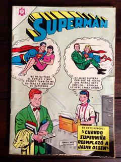 Cómic Antiguo Supermán N.479 Año 1964 Serie Águila