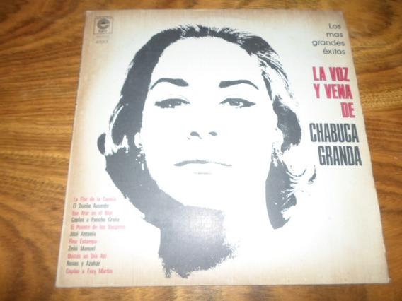 Chabuca Granda - La Voz Y Vena De * Disco De Vinilo