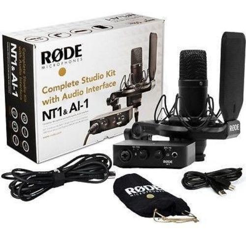 Kit Estudio Rode Nt1 & Ai-1 Rode Ai1 Nt1 + Ai 1 Con Interfaz