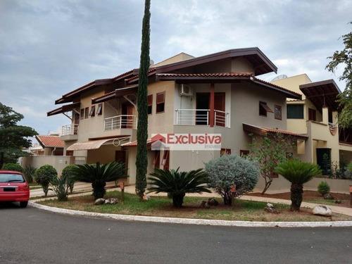 Casa Com 3 Dormitórios À Venda, 313 M² Por R$ 1.280.000,00 - Condomínio Okinawa - Paulínia/sp - Ca1520