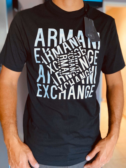 Remeras Armani Exchange (0riginales Con Cod De Auntenticidad