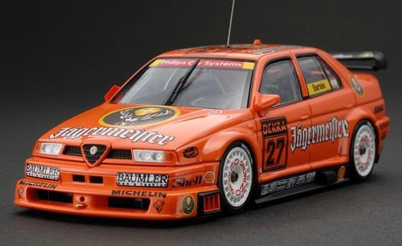 Alfa Romeo 155 V6 Ti Bartels 1994 Dtm 1/18 Minichamps