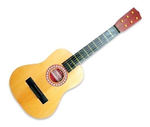 Guitarra Criolla De Madera Juguete Niños 80 Cm