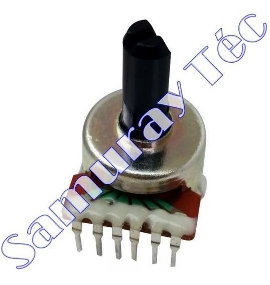 Potenciômetro Rotativo 6 Terminais Volume B503 = 50kb