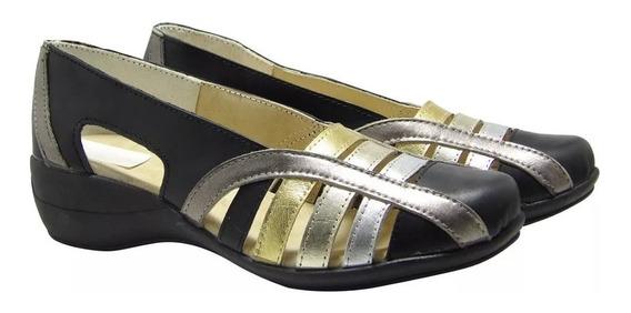 Sandalias Zapato Cuero Vacuno Mujer - Calzados Union 552