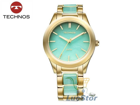 Relogio Technos 2033ag/4a Stone Collection Feminino