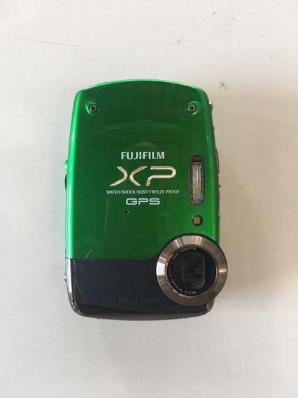 Câmera Digital Fujifilm Xp30 Gps-prova D´água - Com Defeito