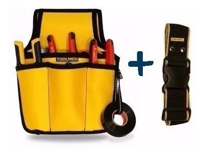 Kit Porta Herramienta Toolmen T60 Dieléctrica + Cinturón T95