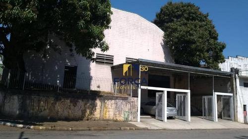 Galpão Para Venda, 801 M² Por R$ 1.100.000,00 - Vila Paraíso - Guarulhos/sp - Ga0777
