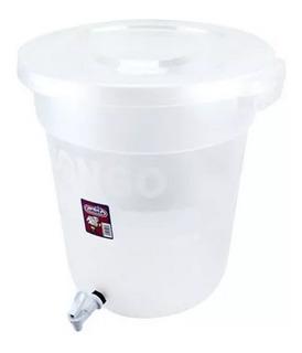 Dispensado De Aguas Frescas 40 Litros Plástico Duro Con Llav
