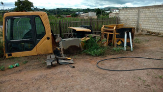 Cabine Escavadeira Volvo 210