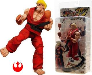 Ken - Street Fighter 4 - Nuevo !! Neca Figuras Video Games