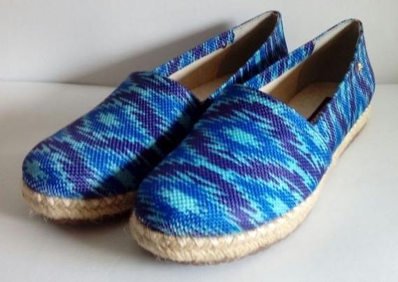 Alpargata Cravo & Canela Azul 141101-2 Solado Corda Feminina