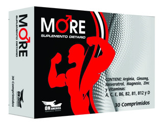 More Testosterone Up 30caps Promo Pack X3 Envases