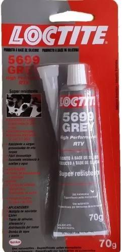Cola Silicone Adesivo Junta Loctite Grey 5699 Cinza 70g
