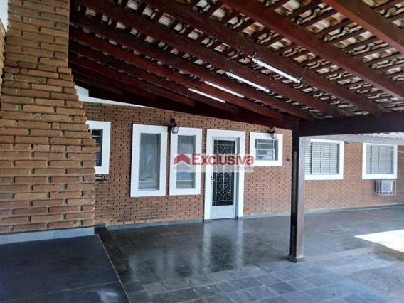 Casa Com 2 Dormitórios Para Alugar, 100 M² Por R$ 1.500,00/mês - Parque Da Figueira - Paulínia/sp - Ca1526