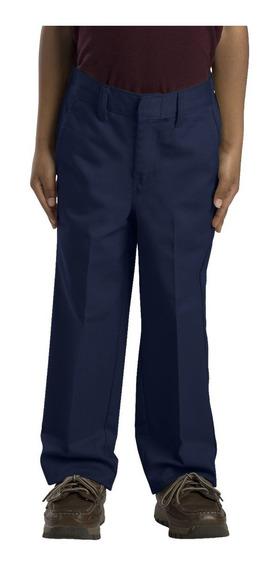 Pantalón Para Niño Dickies 56362 Azul Marino