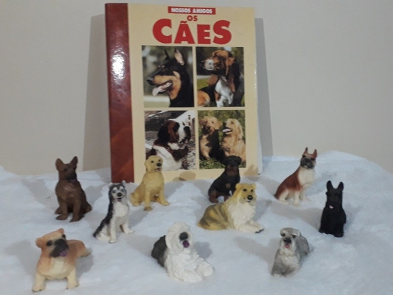 Miniaturas Da Coleção Nossos Amigos Os Cães + Fichário