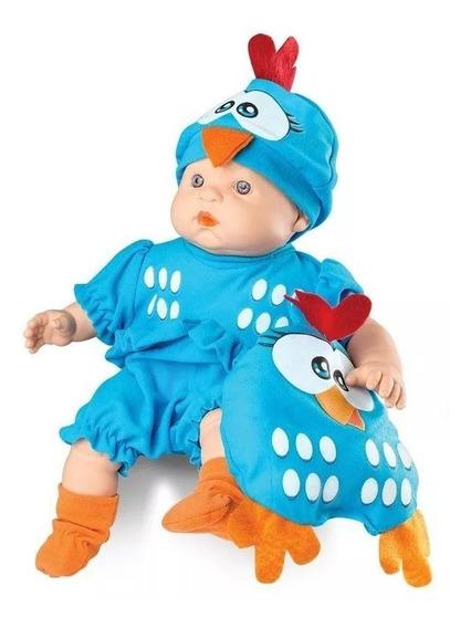 Boneco Meu Bebê Galinha Pintadinha Roma Brinquedos