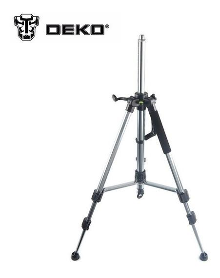 Tripé Para Nivel A Laser Deko Com Regulagem De Até 120cm ,