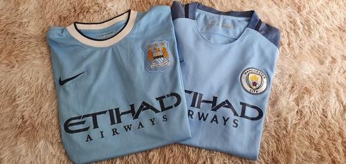 Kit Camisas Manchester City Nike