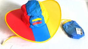 Gorra Sombrero Venezuela Impermeable Doblan Souvenir Regalo