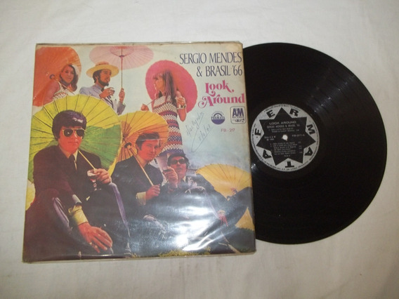 Vinil Lp - Sergio Mendes E Brasil 66 - Look Around