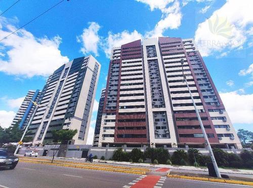 Apartamento Com 3 Dormitórios À Venda, 115 M² Por R$ 440.000,00 - Guararapes - Fortaleza/ce - Ap0743