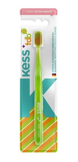 Escova Dental Kess Pro Tdb Cerdas Extra Macia Verde