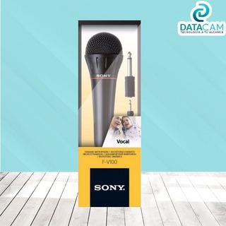 Micrófono Original Sony Fv100 Karaoke Vocal Dinámico