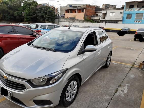 Onix 1.0 Lt 2019 Prata Carro De Mulher