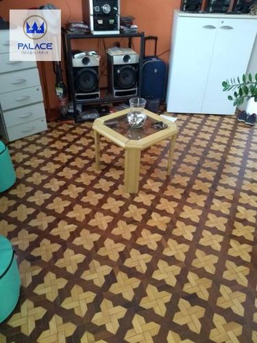 Casa Com 1 Dormitório À Venda, 45 M² Por R$ 170.000,00 - Centro - Piracicaba/sp - Ca0059