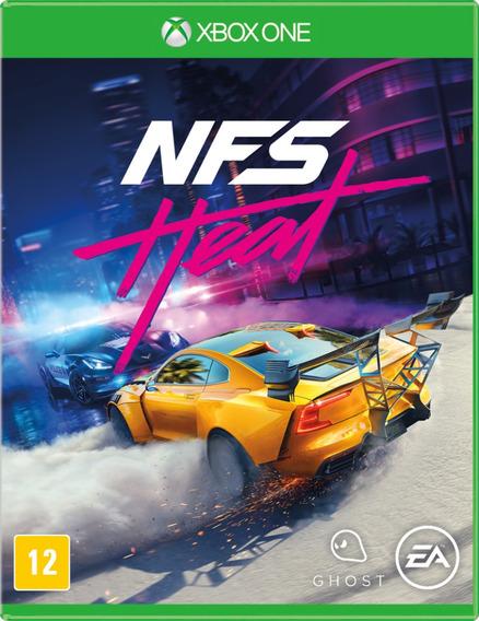 Need For Speed Heat Xbox One - Midia Fisica Lacrado