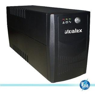 Atomlux 1000@ Ups Y Estabilizador