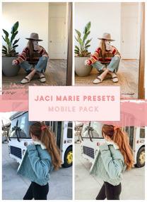 Jaci Marie Pacote Presets Lightroom Mobile E Lightroom Pc