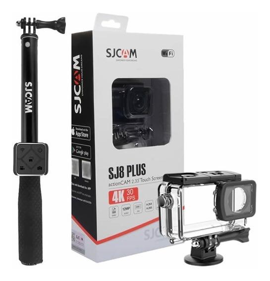 Camera Esportiva Sjcam Sj8 Plus Original + Controle Remoto