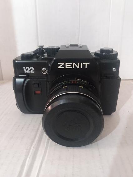 Camera Fotografica Zenit 122 Em Estado De Nova C/ Manual