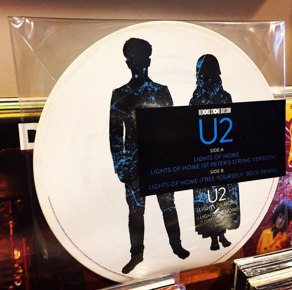 U2 Lights Of Home Vinilo Single Picture Rsd 2018 En Stock