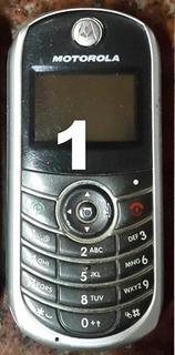 Motorola C139 Movistar Con Cargador.