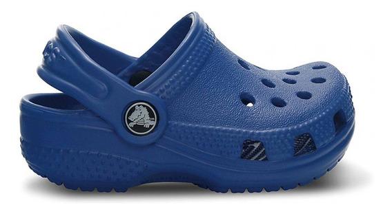 Crocs Originales Littles Azul Nene Nena