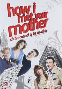 How I Met Your Mother Como Conoci Tu Madre Temporada 2 Dvd
