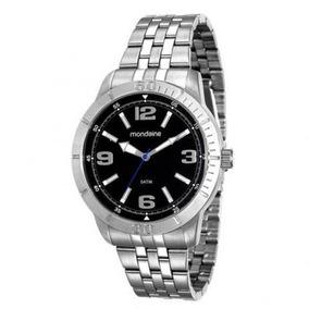 Relógio Masculino Mondaine Prateado 99191gomvne1